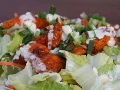 Buffalo Chicken Salad with Blue Cheese Dressing, Photo 2
