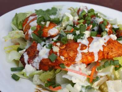 Buffalo Chicken Salad with Blue Cheese Dressing, Photo 3