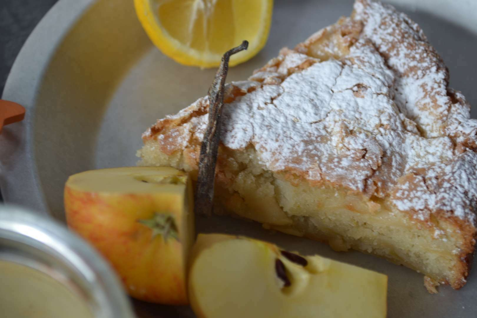 Apple Cake G Plain Flour  Eggs