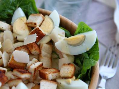 Caesar salad - the classic recipe