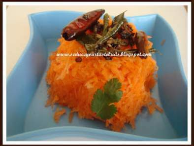 Carrot salad-Indian style..., Photo 2