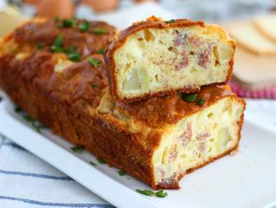 Cheese and ham cake, Photo 4
