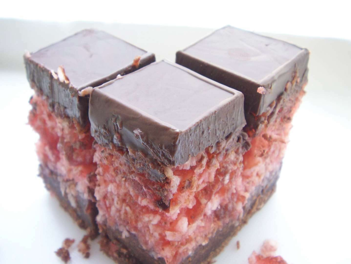 Cherry Ripe Slice Recipe Petitchef
