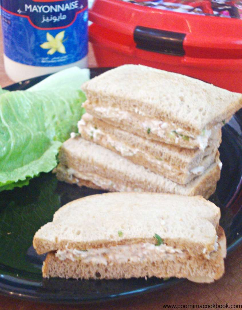 how to make mayonnaise sandwich
