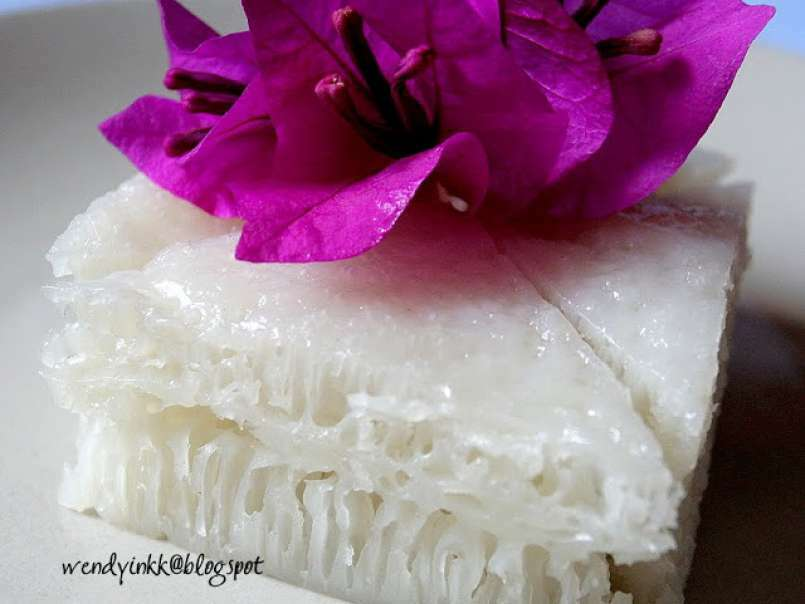 Chinese White Honeycomb Cake Version 4 Bak Tong Goh 36