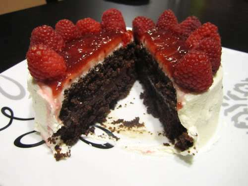 Chocolate Cake With Raspberry Amp Ganache Filling Recipe