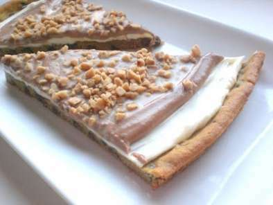 Chocolate Chip Cookie Pizza Topped With Toffee., Photo 2