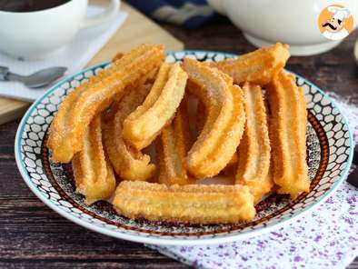 Churros crunchy and savory
