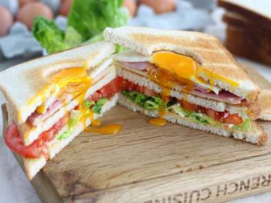 Club Sandwich with an egg - Video recipe!, Photo 2