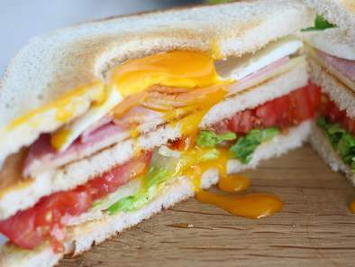 Club Sandwich with an egg - Video recipe!, Photo 3