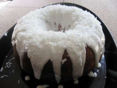 Coconut cake from Patrick and Gina Neely's recipe