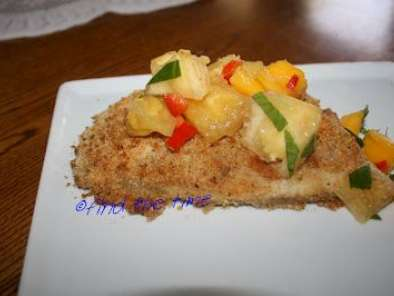 how to cook tilapia with bread crumbs