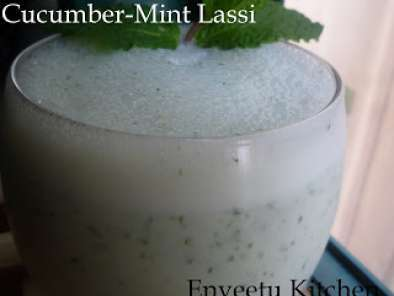 Cucumber-Mint Lassi