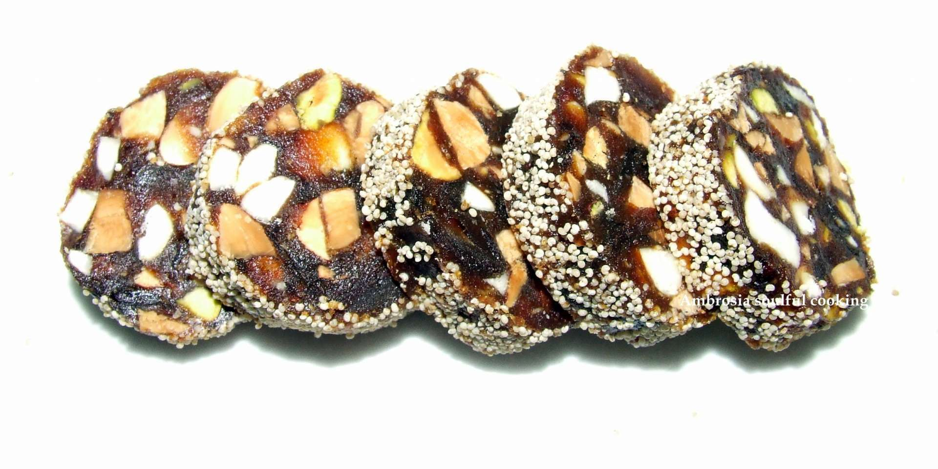 dates roll  sugar free   recipe petitchef