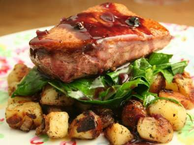 Duck Breast with the Best Sautéed Potatoes