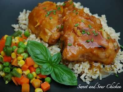 Easy- Chicken- Recipes - Sweet-and-sour-chicken