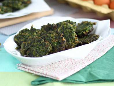Easy spinach fritters