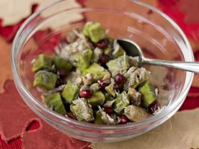 Endive boats with avocado, pomegranate, & crab salad gluten, Recipe ...