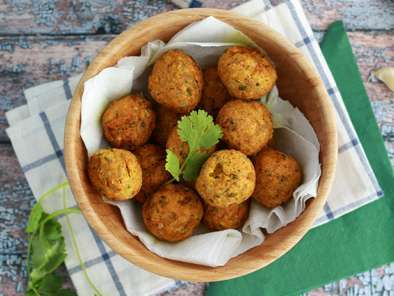 Falafel, a quick and easy recipe