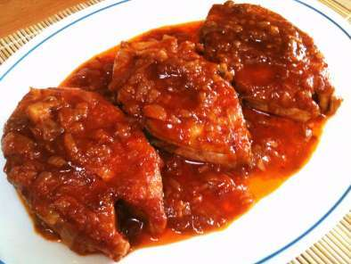 Fish In A Spicy Red Sauce