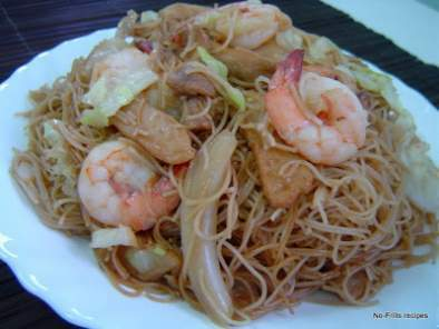 Fried Bihun ~ Rice Vermicelli