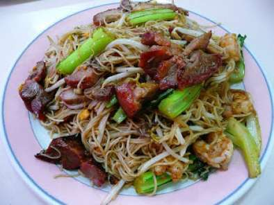 Fried Meehoon / Bee Hoon Singapore Style