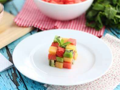 Fruit Rubik's cube, the design fruit salad, Photo 3