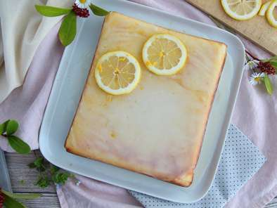 Glazed lemon brownies - Lemon bars, photo 3