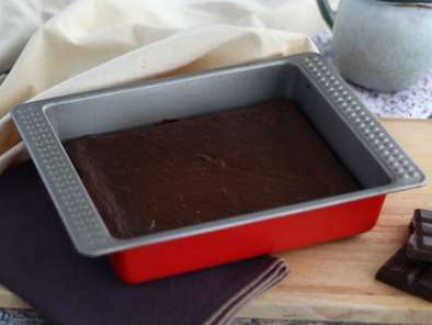 Gluten free chocolate cake with red beans, photo 2