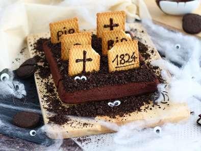 graveyard brownies for halloween