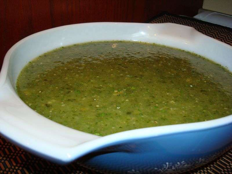Green Chile Sauce For Pork Or Chicken Tamales Recipe Petitchef