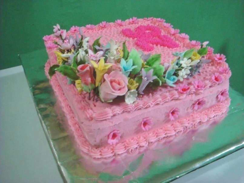Homemade Birthday Cake Photo 1