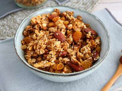 Homemade granola (muesli), photo 3