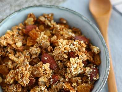 Homemade granola (muesli), photo 4