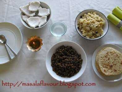 Kala channa (black chickpeas) for the 8th day of Navratri