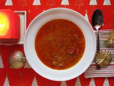 Christmas Soup.Kapustnica Slovak Christmas Soup