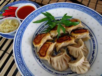 how to make chinese fried dumplings