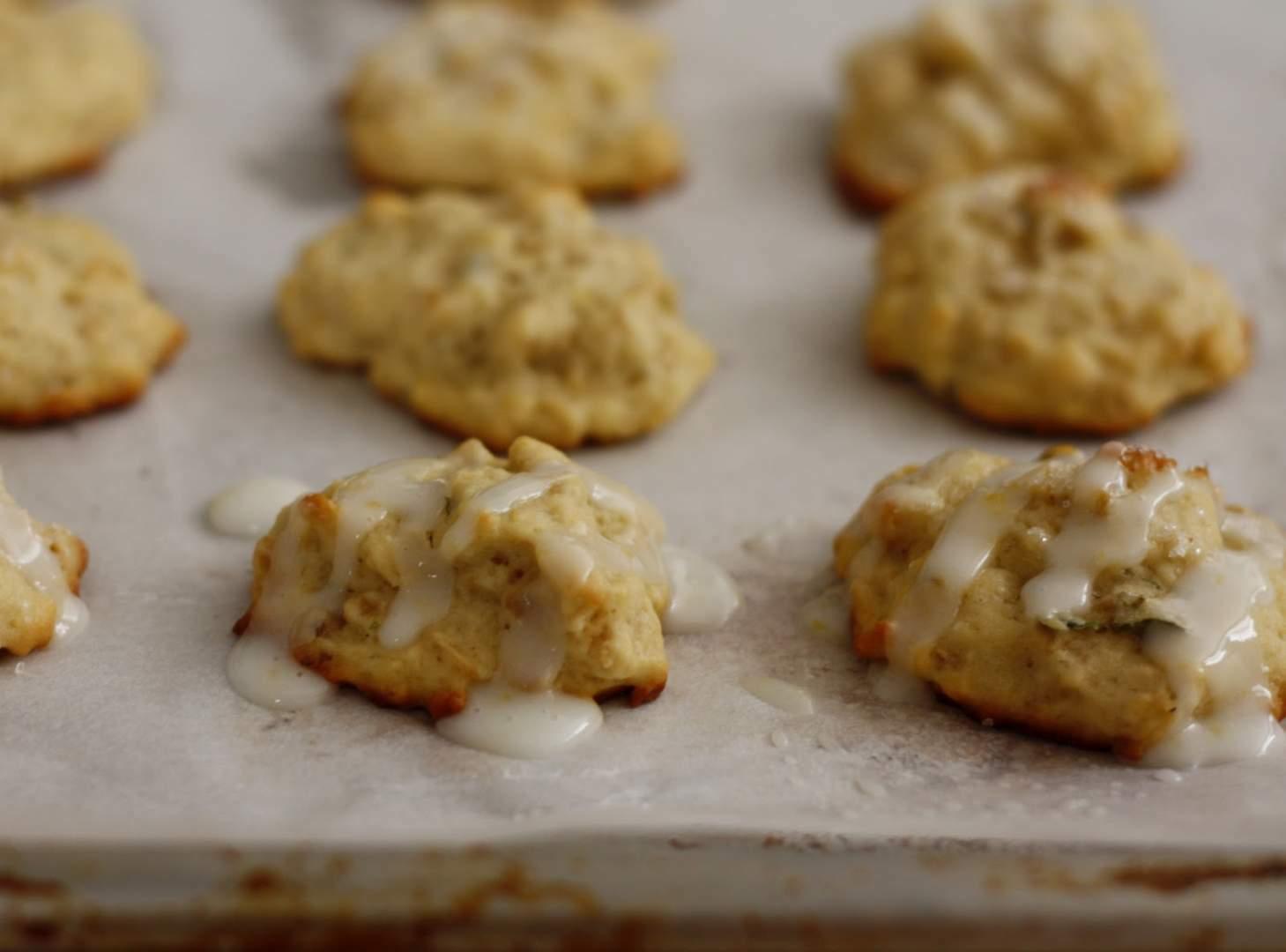Lemon olive oil cookies, Recipe Petitchef