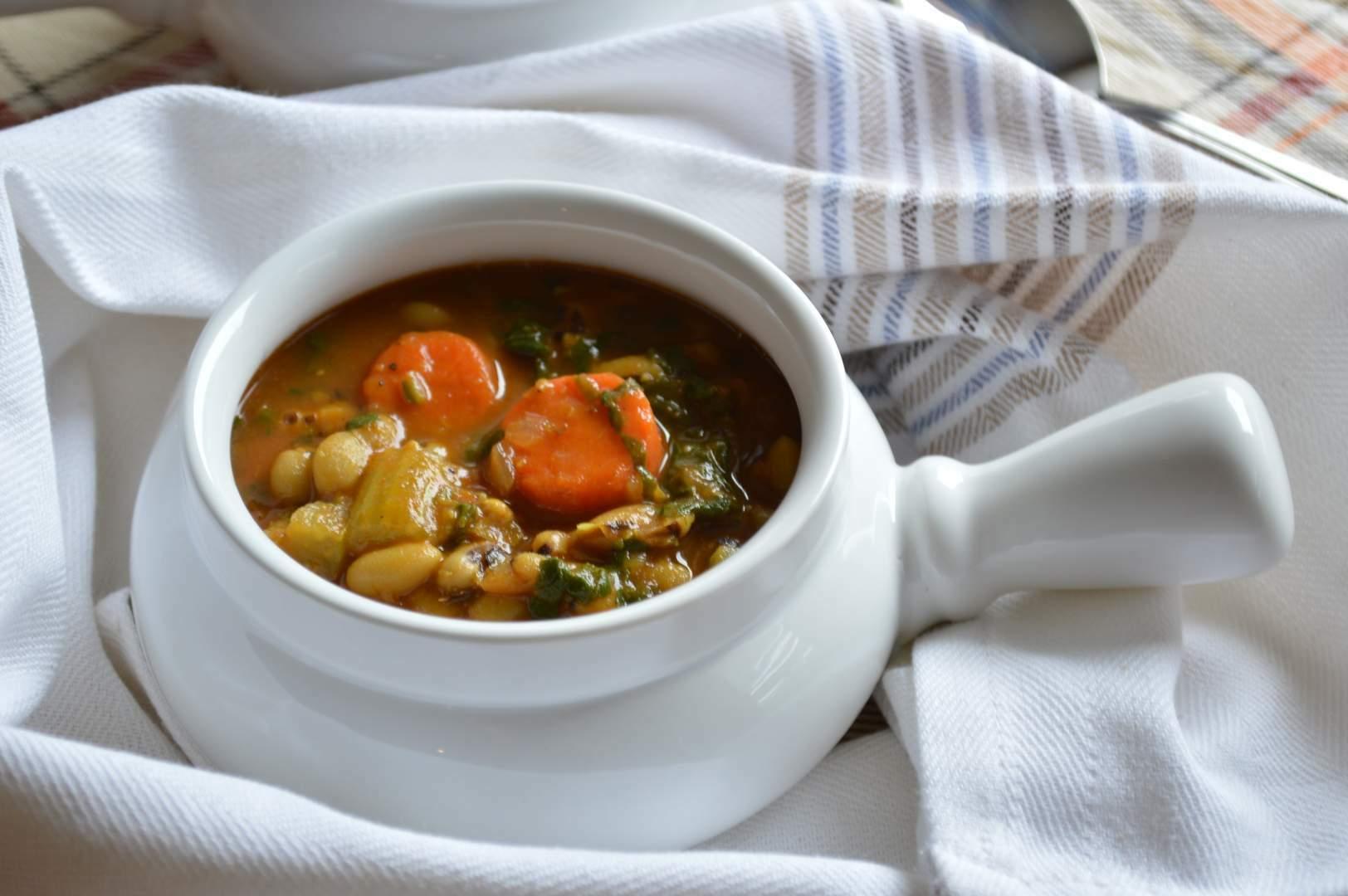 Vegetable Stew At Room Temperature