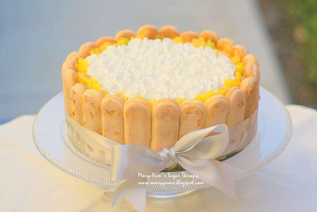 Mango cardamom icebox cake, Recipe Petitchef