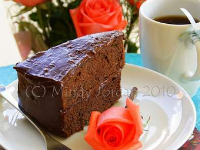 Martha Stewarts Ultimate Chocolate Cake With Frosting