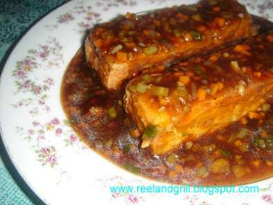 Sizzling Tofu in Oyster Sauce, Photo 3