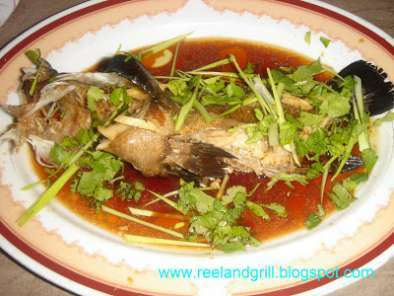Steamed Lapu-Lapu (Steamed Grouper in Soy Sauce), Photo 2