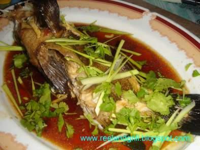 Steamed Lapu-Lapu (Steamed Grouper in Soy Sauce), Photo 3