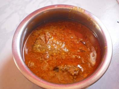 Naethu Vacha Meen Kuzhambu/South Indian fish curry/gravy with coocnut milk