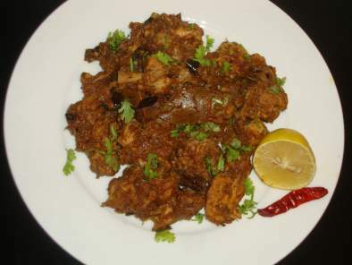 Chettinad Pepper Chicken Masala