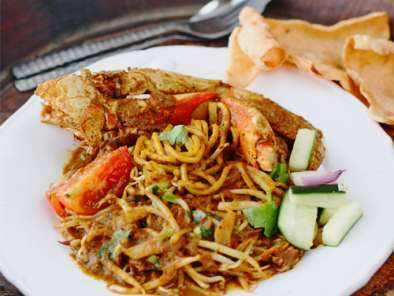 Mie Kepiting Aceh (Aceh Crab Noodle) Recipe