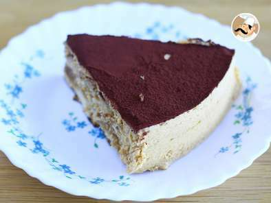 Mocha cake, a classic coffee dessert, photo 2