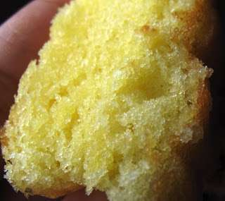 Lemon Vanilla Sponge Cake