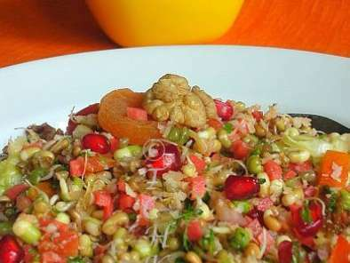 Moong Sprouts Salad